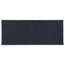 alfombra lisa 50x120 azul china, azul