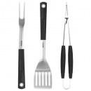 wholesale Barbecue & Accessories: barbecue utensils x 3 handle tpr