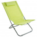 beach chair caparica granny, green