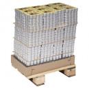 bougie chauffe-plat citronnelle x24 box, jaune