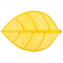 conjunto de hojas de mesa 50x33 amarillo