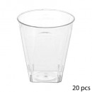 faceta 6cl verrine x20 plastico