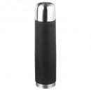bouteille isolante noire 1l, noir