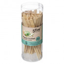 bamboo sticks x48 pcs, 2- times assorted , multico