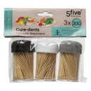 cure dents x3 pots estl, 2-fois assorti, multicolo