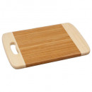 tabla de cortar de bambú 30x20, incolora