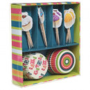 Boxpapier Party Box, 6- fach sortiert , multic