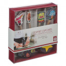 paper box party box, 6- times assorted , multic