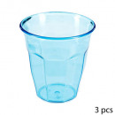 vasos con dimensiones x12 ps, multicolor