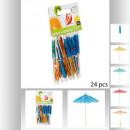 ingrosso Moda e tradizione: ombrelli cocktail x24, multicolore