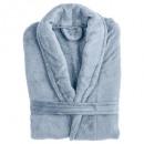 wholesale Laundry: microfiber bathrobe gray, gray