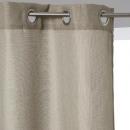 cortina aspecto lino yute 140x260, beige