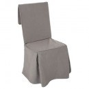gray, gray chair cover