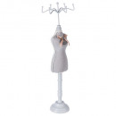 Schaufensterpuppe trägt Couture-Schmuck, 3- fach s