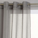 wholesale Curtains & Drapery: voile etamine gray 140x240, gray