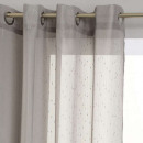 wholesale Curtains & Drapery: gray striped voile 140x240, light gray