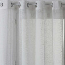 wholesale Curtains & Drapery: white embroidered curtain 140x240, white