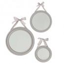 cinta redonda espejo x3, 3- veces surtido , culo c
