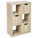 furniture 6cubes 3 doors bivoak, beige