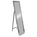 mirror s / foot cl plate silv37x157, silver