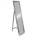 spiegel s / foot cl Borden silv37x157, zilver