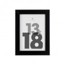 13x18 schwarzer Bilderrahmen, schwarz