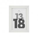 cadre photo blanc 13x18 eva, blanc