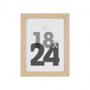 marco de fotos natural 18x24, beige