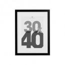 marco de fotos negro 30x40, negro