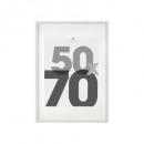 50x70 white photo frame, white