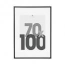 cadre photo noir 70x100 eva, noir
