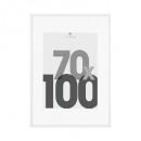 Portafotos eva blanco 70x100, blanco