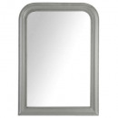 rounded mirror Adele gray 74x104, gray