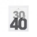 groothandel Home & Living: witte kunststof fotolijst 30x40, wit