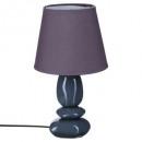 lámpara de cerámica guijarro pm h30 x3, 6- veces s