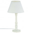 white wood lamp h36, white