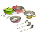 metal cookware 11pc, 2- times assorted