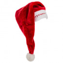 long embroidered plush santa claus adult hat