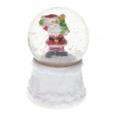 wholesale Snow Globes: glitter snow ball 1 led cc, 4- times assorted