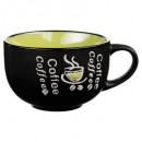 45cl groene koffie, veelkleurig