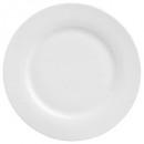 assiette plate ronde 24cm, blanc