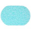 mesa de spaghet oval set turquoi, azul