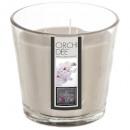Vela perfumada Orquidea Cristal Nina 500g, Blanco