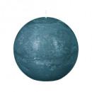 palla di candela rustiche canar d8, verde scuro
