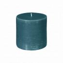 candela rotonda rustica canar 6.7xh7, verde scuro