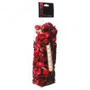 pot pourri fr.rouges 140grs, transparente