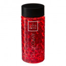 Gel Crystal florero rojo de 400 ml, de color rojo