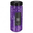 Crystal gel jarrón púrpura 400ml, violeta
