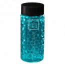Crystal gel vase 400ml turquoise, blue
