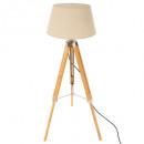 lampadaire trep runo bamb h146, ivoire